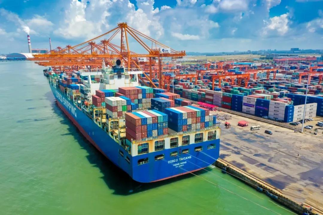 bob手机版官网港多举措扩大西部陆海新通道品牌效应 港口货物吞吐量持续快速增长