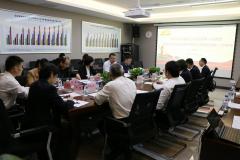 集团公司党建工作第一检查组到北港股份开展2019年度党建工作考核