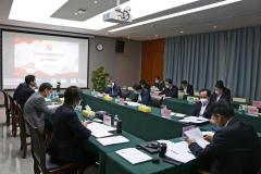 汲取智慧力量 奋勇担当作为--北港股份党委组织2020年第一季度理论中心组(扩