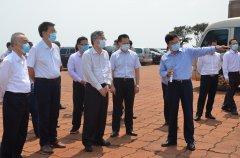 自治区副主席周红波到防城码头公司调研
