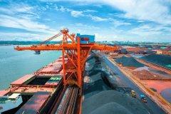 防城码头公司单月吞吐量首次突破一千万吨